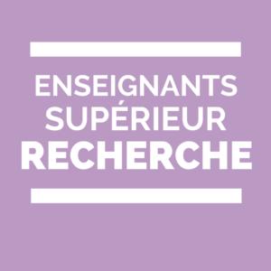 Group logo of Enseignement supérieur et recherche